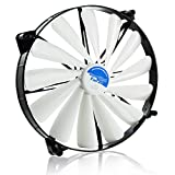AAB Cooling Super Silent Fan 20 - groß 200mm Leise und effizient Gehäuselüfter mit 4 Anti-Vibrations-Pads
