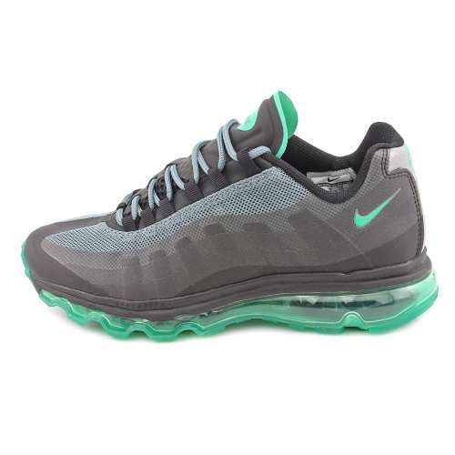 Nike Av Pro 3 Gs / ps Kinder Basketball 525467 001 Schwarz WeiÃ? Black/Stadium Green-Bright Crimson-Hst