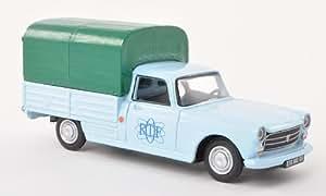 Peugeot 404 Pick Up , ORTF, voiture miniature, Miniature déjà montée, Eligor 1:43