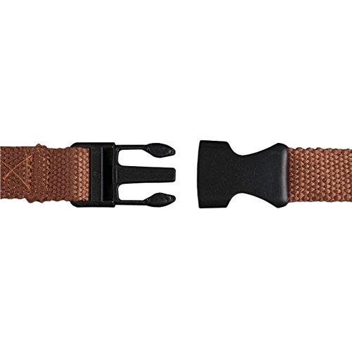 STILORD 'Eliah' Vintage Bolso de Pecho Bolso Bandolera de Cintura con correa Vintage Riñonera para móvil & la cámara digital, de cuero auténtico de búfalo, Color:naranja - marrón