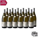 Chablis Blanc 2017 - Domaine Louis Robin - Vin AOC Blanc de Bourgogne - Cépage Chardonnay - Lot de 12x75cl