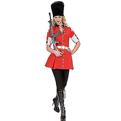 Widmann wid71532 - costume per adulti guardia reale, multicolore, m