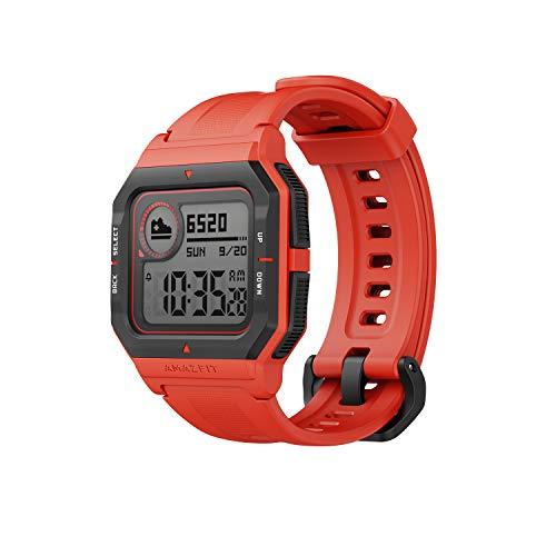 Oferta de Amazfit Neo - Smartwatch Orange, Rojo