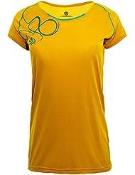 Ternua Magne Camiseta, Mujer, Amarillo (Mustard), M