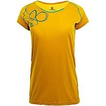 Ternua ® Magne Camiseta, Mujer, Amarillo (Mustard), ...