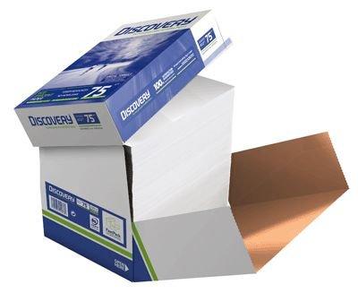 DISCOVERY 834270A75S Kopierpapier, A4, holzfrei, 75 g/qm, 2500 Blatt, weiß