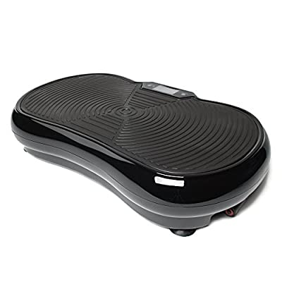 Bluefin Fitness Ultra Slim Vibration Plate | Lose Fat & Tone Up at Home | 5 Programs + 180 Levels | Bluetooth Speakers | Easy Storage | Sleek UK Design from Bluefin Fitness