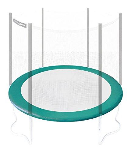 Ultrasport Randabdeckung für Gartentrampolin Wave (Modelle ab Mai 2014), Trampolin Zubehör Randschutz in der Farbe Grün, Trampolin Federabdeckung für Durchmesser 251 bis 430 cm, 430cm