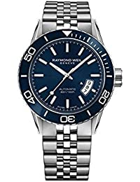 Raymond Weil Freelancer Automatic Watch, Ceramic Bezel, 30 atm, 2760-ST3-50001