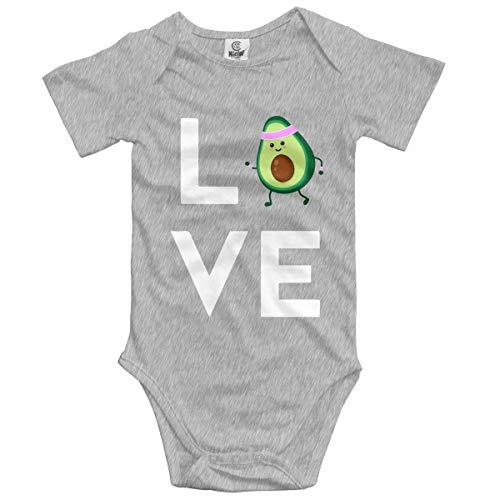 Tmnt Kostüm Jungen - flys Ich Liebe Avocado Baby Body Mode Onesies Kurzarm Strampler Kostüm, 0-3M