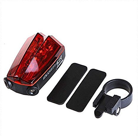 cosmic bicycle safety led tail light with laser lane marker Cosmic Bicycle Safety LED Tail Light with Laser Lane Marker 4177ui090tL