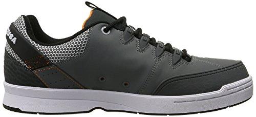DC, Scarpe da Skateboard uomo Grey/Grey/Orange