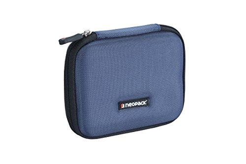 Neopack EVA Ultra HDD Hard Case /Cover /Pouch with Shockproof Lining for 2.5 inch Compat Portable Hard Drive - Blue (WD My Passport Ultra, Seagate Backup Plus, Transcend StoreJet, Toshiba Canvio, Sony)  available at amazon for Rs.349
