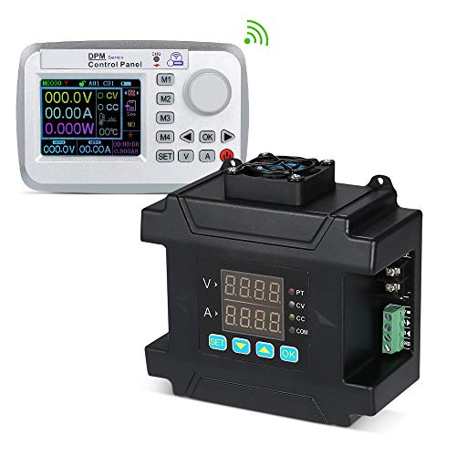 KKmoon LCD Digital programmierbare Konstantspannung Aktuelle Step-Down Power Supply Modul HF Übertragung DC 0-0-60V / 0-8A
