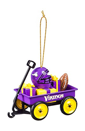 Team Sport Amerika 3ot3817wgn Minnesota Vikings Team Wagon Ornament