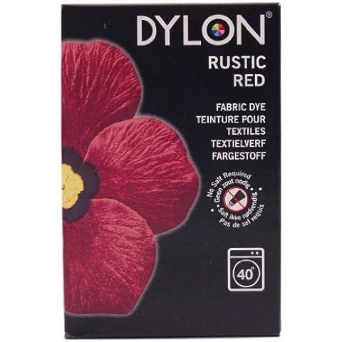 Dylon Rojo Rústico Máquina tinte-limitada Edición (Vendido por Perlas Tintorerías Ltd)