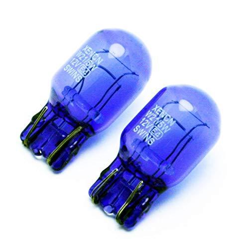 Xencn Ledpremium 2X Glühbirnen Halogen T20 W21/5W Super Brillanten Weiß 4200K Wirkung/Effekt Xenon -lichter Stellung Tagfahrlicht 7443