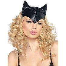 Máscara Catwoman casco negro