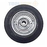 Toolzone Ersatz Ersatzrad 200mm x 40mm für Stützrad rm016und ähnliche Jockey Rädern–Anhänger Jockey Wohnwagen Lenkrolle