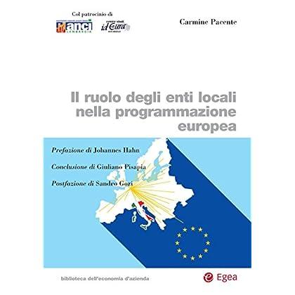 Il Ruolo Degli Enti Locali Nella Programmazione Europea