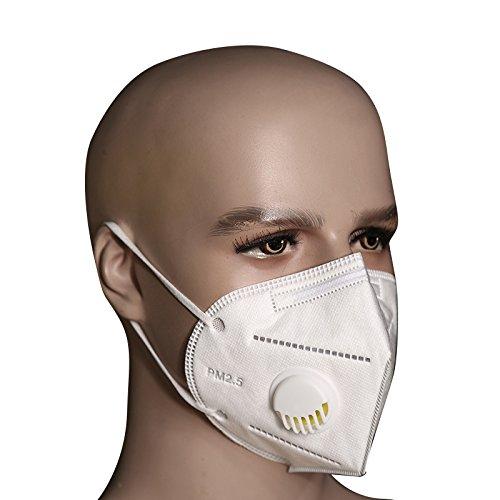Bllomsem 5pcs Cara Máscara Filtrar Antipolvo PM2.5