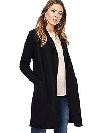 Debenhams RJR.John Rocha Womens Black Wool Blend Coatigan Size