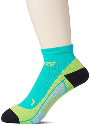 CEP Herren Low Cut Men Socken, grün(Lagoon/Lime), Gr. 39-43 (Herstellergröße:III)