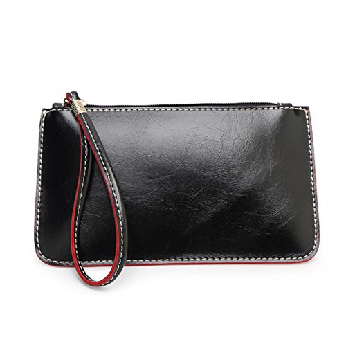 Hunpta Zipper Coin Purse Women Handbag Lady Envelope Clutch Tote Bag Clutch Purse Shoulder Bag