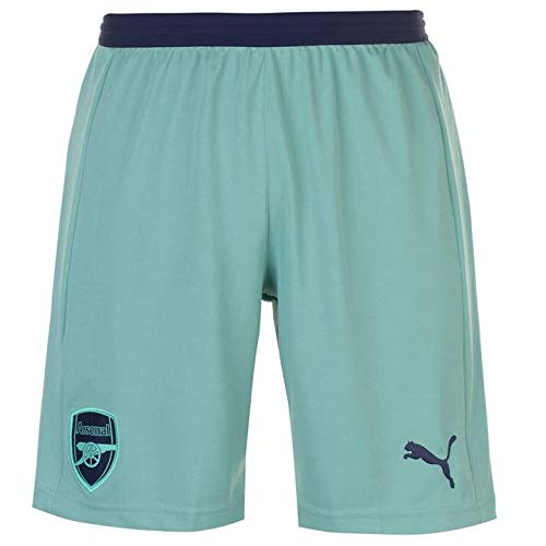Puma Arsenal FC Replica Pants, Hombre, Biscay Green/Peacoat, XL