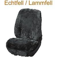 RAU Universal Schonbezug Sitzbezug Fahrer Echtfell Lammfell anthrazit, Details siehe Artikelbeschreibung