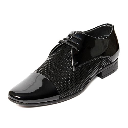 Bacca Bucci Men Black Pu Formal Shoes