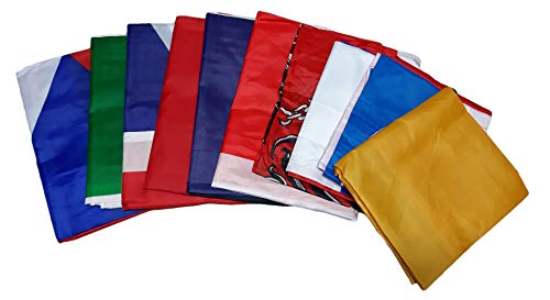 R&f srls 10 bandiera europee tessuto misura standard 90 x 150 cm