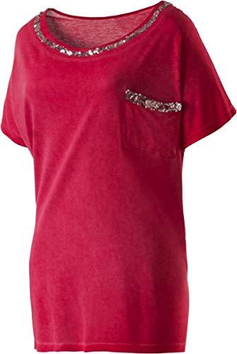 Firefly Damen T-Shirt Celine II, Silber Greymelange,40 (Damen-t-shirts Firefly)