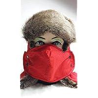 Sombrero Hombres Y Mujeres Invierno Lei Feng Sombrero, Hombres Y Mujeres Invierno Ciclismo Exterior Espesamiento Sombrero De Esquí, Orejeras Sombrero, Sombrero De Invierno Hombres Y Mujeres 10,Rosa roja,Un tamaño Hat