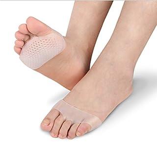 DOXUNGO zelluläre wabenförmige Handballenauflage vom Vorderfuß, Anti-Schmerz atmungsaktive Silikonkissen für Füße, Einlegesohle für Damenschuhe mit hohem Absatz