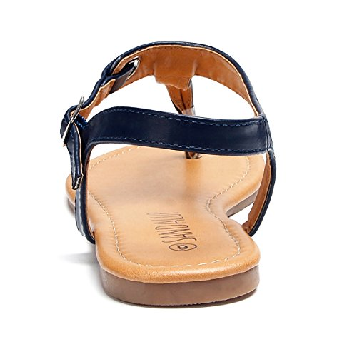 Sandalo In Metallo Con Sandali Donna Blu