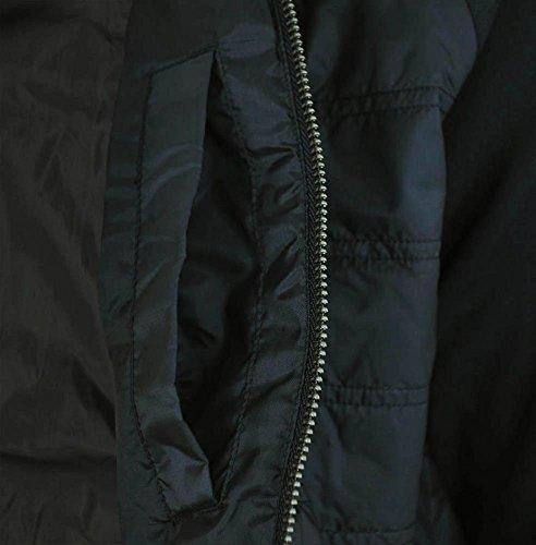 adidas SST TT Quilted Originals Trefoil Track Top Primaloft Veste Homme Noir