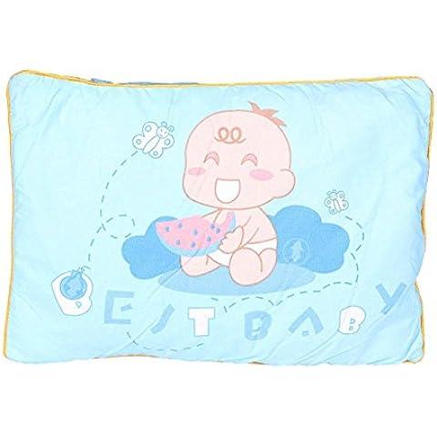 Almohadón bebé con Algodón Cassia almohada Tratamiento magnético suave Cómodo Rectangular anti-corrección de la cama principal Desmontable Weeping