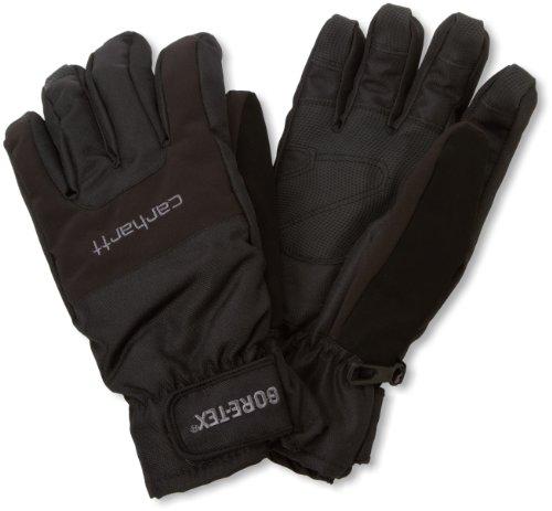 Carhartt Storm Glove Handschuhe, S, schwarz A507 (Carhartt Schwarz Handschuh)