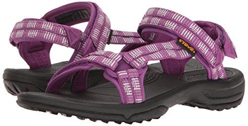Teva Terra Fi Lite W's Damen Sport- & Outdoor Sandalen, Blau, 12 US Women atitlan bright purple