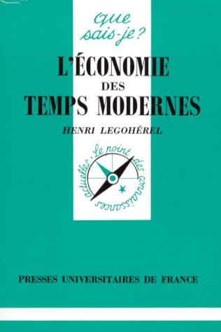 L'économie des temps modernes