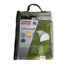 Side Panel for Coleman Fast Pitch Shelter XL 4.5 x 4.5 m, Gazebo Side Panel with Windows and Door, High Sun Protection 50+, Water Resistant