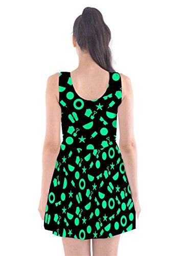 CowCow Damen Kleid Grün Mint Mint