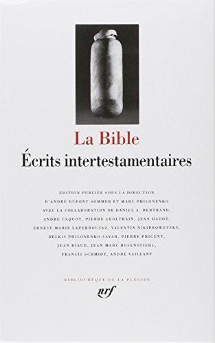 La Bible, écrits intertestamentaires par Anonymes