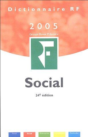Dictionnaire Social 2005