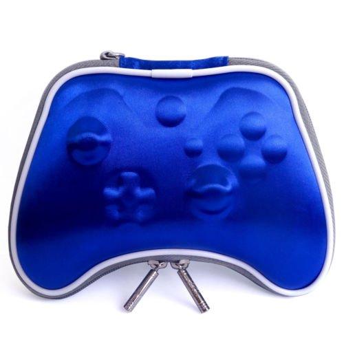 Pandaren® bag airform trasporto sacchetto custodia rigida per controller Xbox One (Blu Sacchetto Di Trasporto)