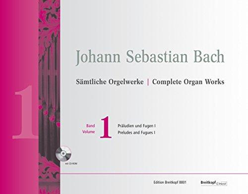 Sämtliche Orgelwerke Band 1: Präludien und Fugen I (EB 8801)