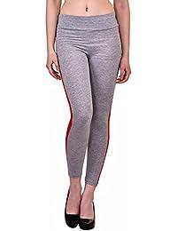 N-Gal Women's Side Print Stripe Legging, NY2414