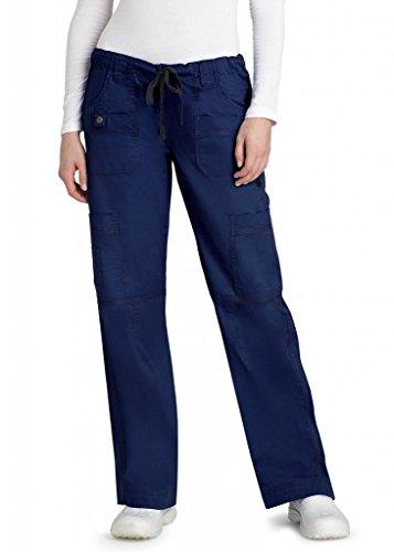 adar-pop-stretch-junior-fit-low-rise-multi-pocket-straight-leg-pants-3100-navy-m
