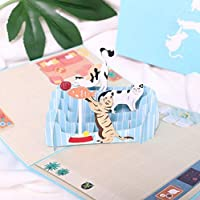 BC Worldwide Ltd handmade 3D pop up birthday card cat sofa,housewarming,mother's day,wedding anniversary,Valentines,father's day,party invitation.